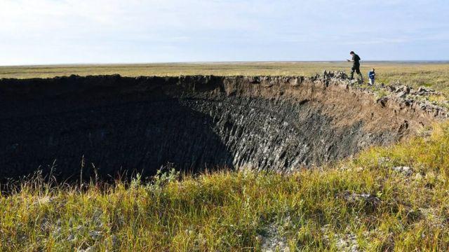 دانشمندان موسسه مسائل نفت و گاز از آکادمی علوم روسیه، جدیدترین حفره را در جریان یک سفر اکتشافی به یامال در اوت ۲۰۲۰ پیدا کردند