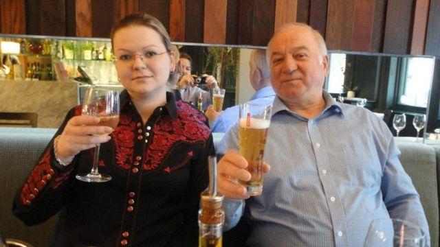 Yulia iyo aabeheed Sergei Skripal
