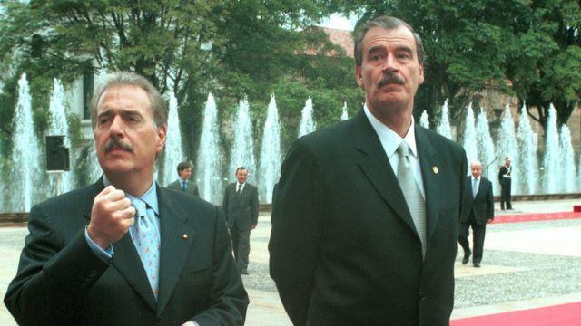 Andrés Pastrana y Vicente Fox