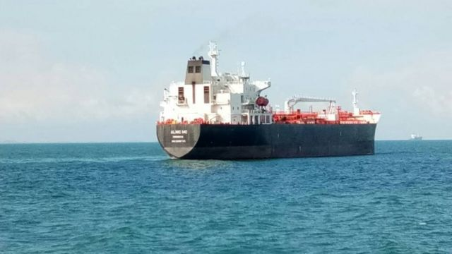 マレーシア海軍総司令官がツイートした「アルニックMC」の写真