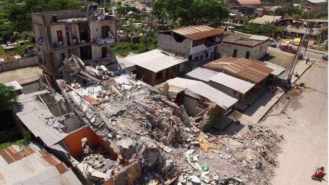 ペデルナレスの町長は町が「破壊された」と(18日)