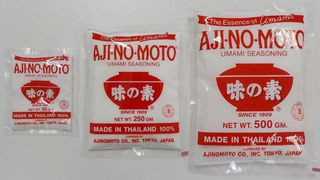 Sobres de Ajinomoto