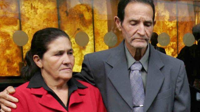 Charles de Menezes'in annesi Maria Otone ve babası Matuzinhos da Silva
