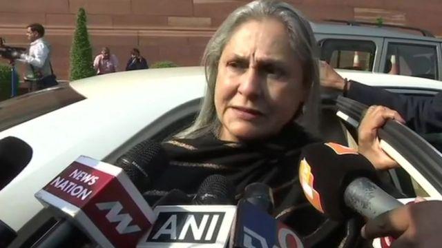 miembro del parlamento indio Jaya Bachchan