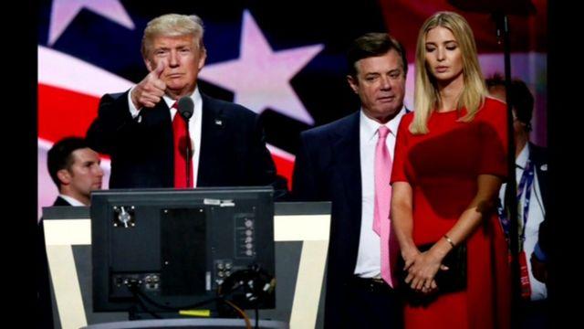 Donald Trump and Paul Manafort