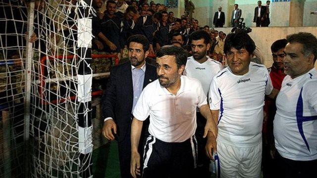 مورالس و احمدی نژاد