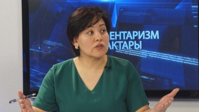 Айнура Усупбекова, шайлоо боюнча эксперт
