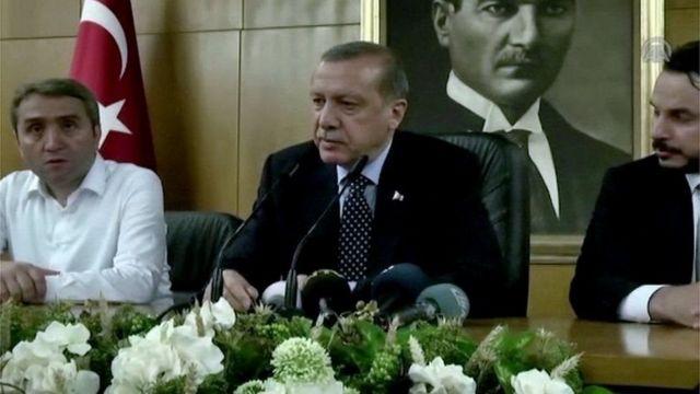 Эрдоган и его соратники
