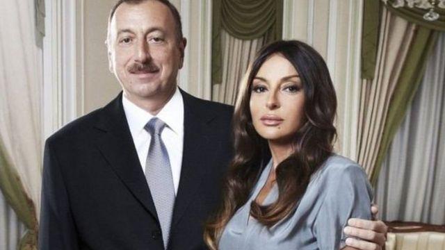 Ozarbayjon prezidenti Ilhom Aliyev va xotini Mehribon Aliyeva