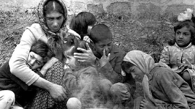 Азербайджанские беженцы из Карабаха