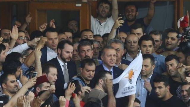 Perezida Recep Tayyip Erdogan