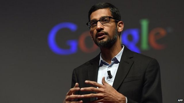 Sundar Pichai: Google's new boss from humble roots