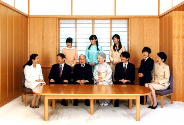 สมาชิกราชวงศ์ญี่ปุ่น