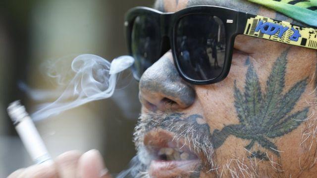 태국에서 기호용 대마는 아직 불법이다
