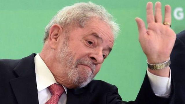 الرئيس البرازيلي الأسبق لويس ايناسو دا سيلفا