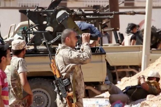 L'Armée libyenne est désormais soutenue par l'aviation américaine