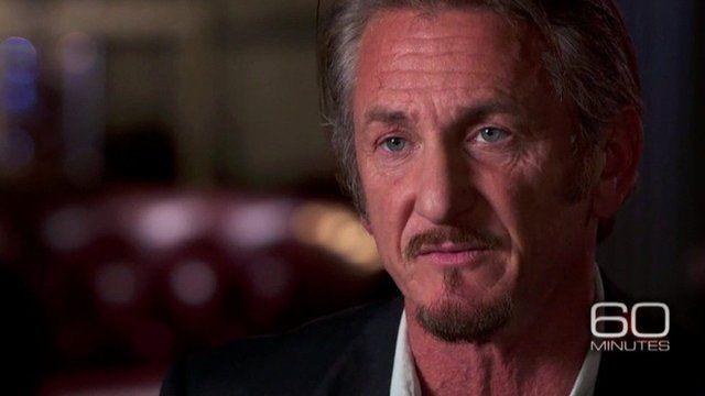 Sean Penn speaking on CSB 60 Minutes