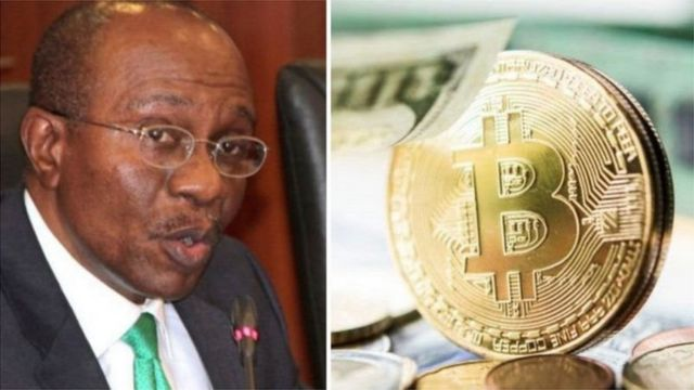 CBN restricts crypto currencies for banks for di kontri
