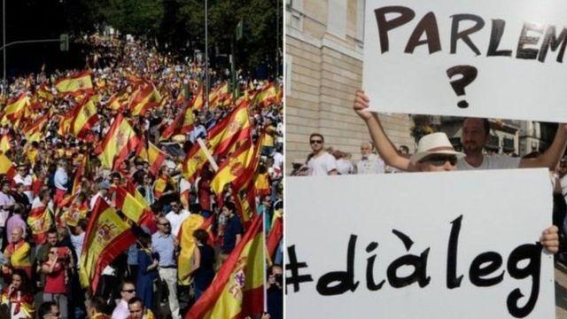 Imyiyerekano igwanya ukwishira n'ukwizana kwa Catalogne