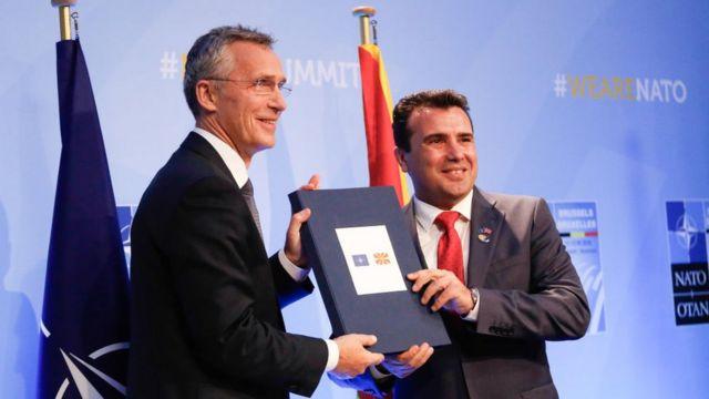 Македонія та НАТО