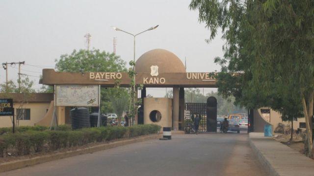 Main gate Abdullahi Bayero Univeristy Kano