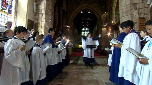 Choir at St Alphege Church, Solihull