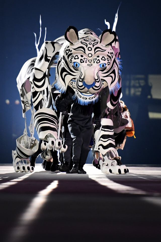 مراسم افتتاحیه بیست و سومین دوره المپیک زمستانی پیونگ چانگ کره جنوبی
