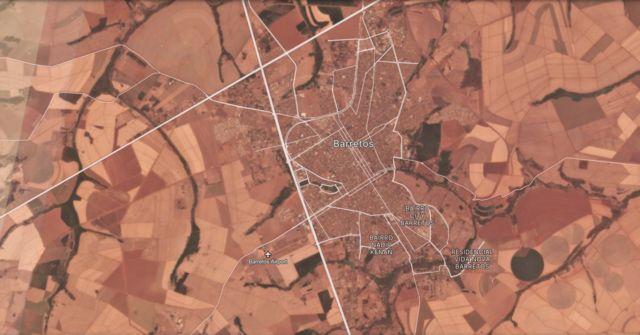 Imagem de satélite de Barretos