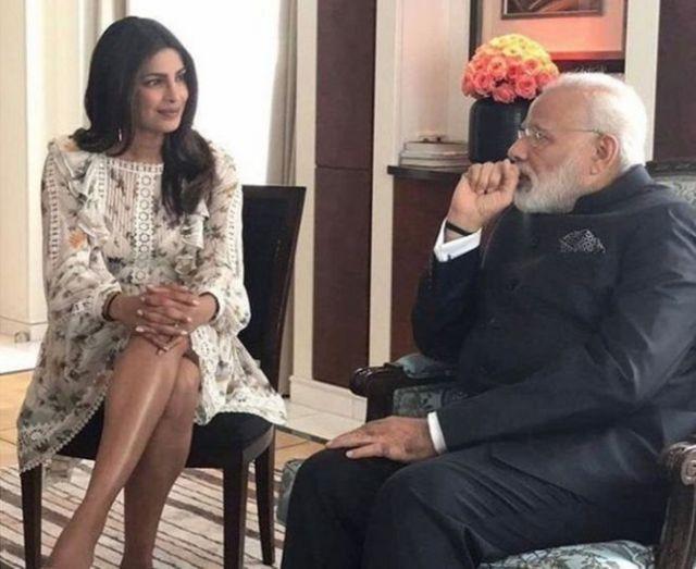 Priyanka Chopra, India, Modi