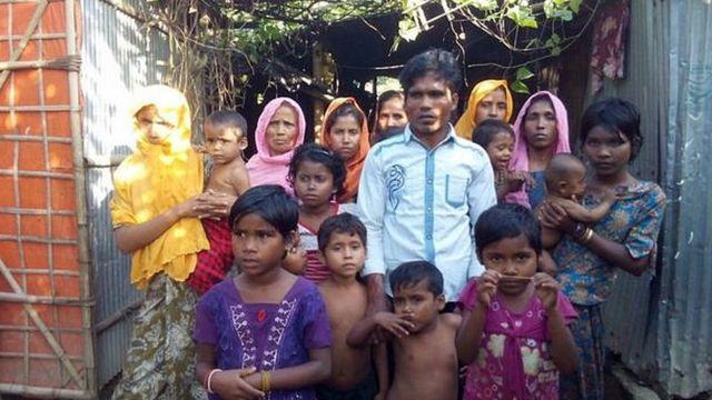 রোহিঙ্গা, মিয়ানমার