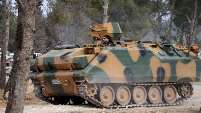 مجموعات من المعارضة المسلحة تدعمها تركيا