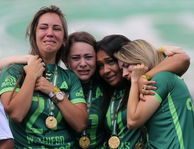 Mujeres de los jugadores fallecidos