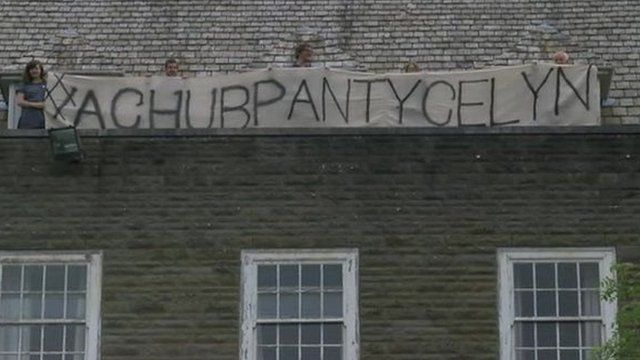 Protest Pantycelyn