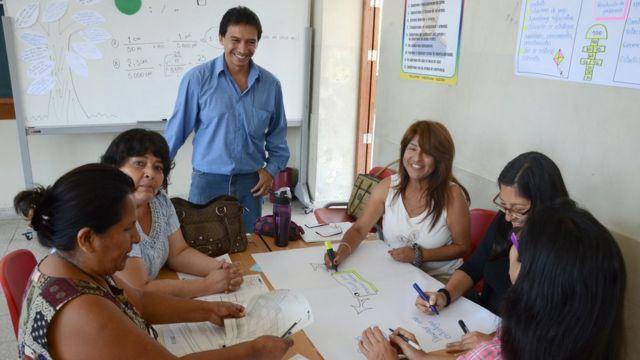 Profesores peruanos