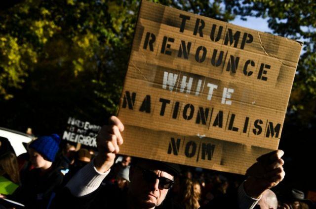 Trump protesto