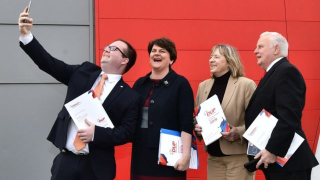 DUP only party that can unite unionism, says Foster