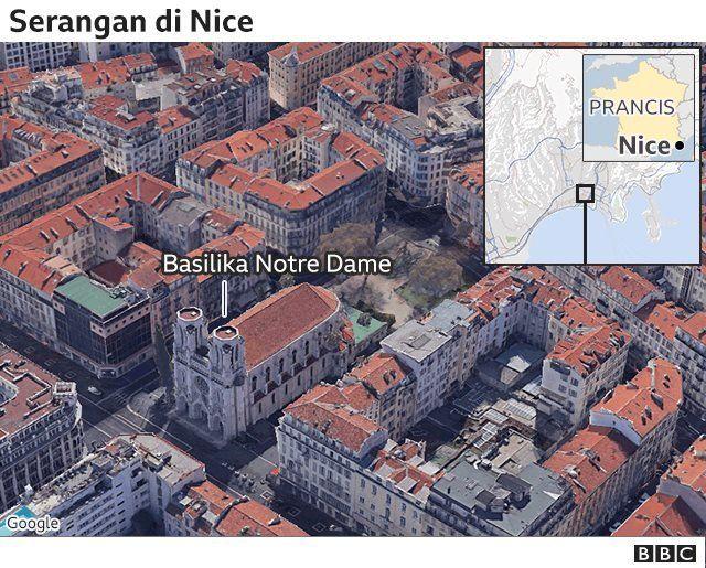 Notre-Dame Basilika Nice, Prancis