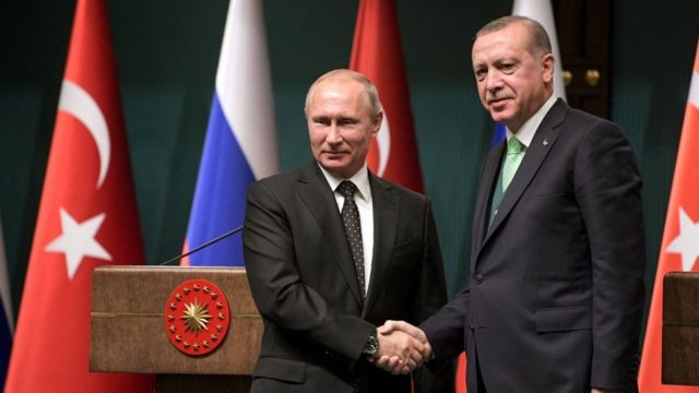 اردوغان و پوتین