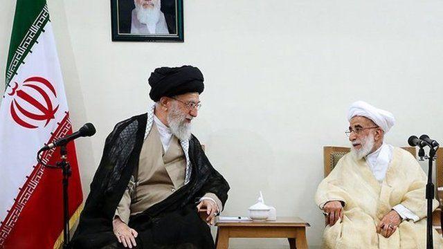 علی خامنه ای و احمد جنتی