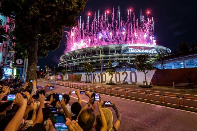 افتتاح أولمبياد طوكيو 2020