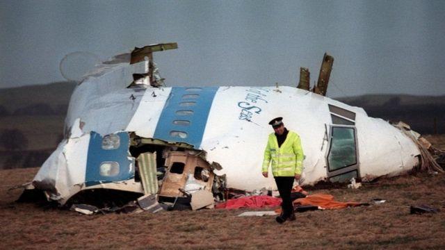 洛克比空難The 1988 destruction of a jet over Lockerbie, Scotland, remains Europe's deadliest-ever terror attack
