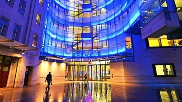 BBC位于伦敦中心的新广电大楼