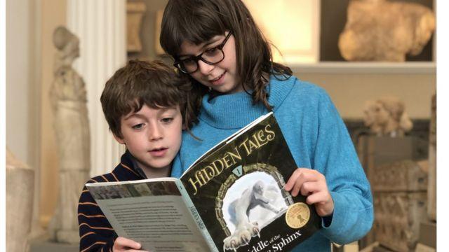 Analogue treasure hunt: Mum's bid to wean kids from computers