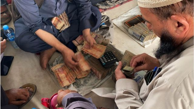 Taliban will not be able to access most Afghan central bank assets - BBC News