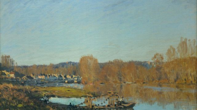 A photo of Autumn on the banks of the Oise at the Montreal Museum Of Fine Arts