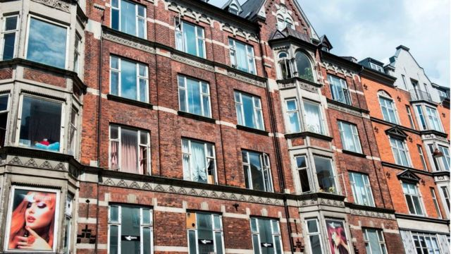 Apartamentos no bairro de Vesterbro, na capital dinamarquesa