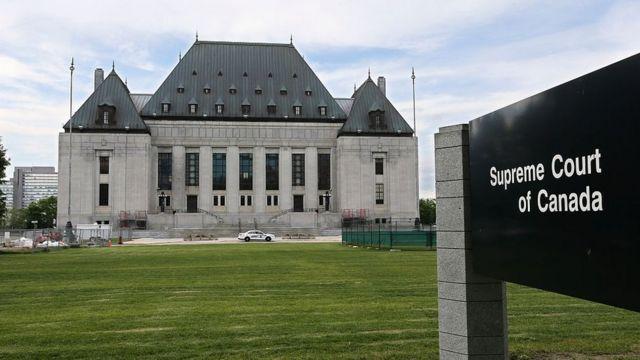La Corte Suprema de Canadá