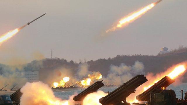Korea ya ruguru yateye izindi Missile mw'ibahari