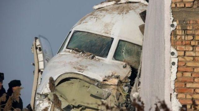 हादसे का शिकार विमान