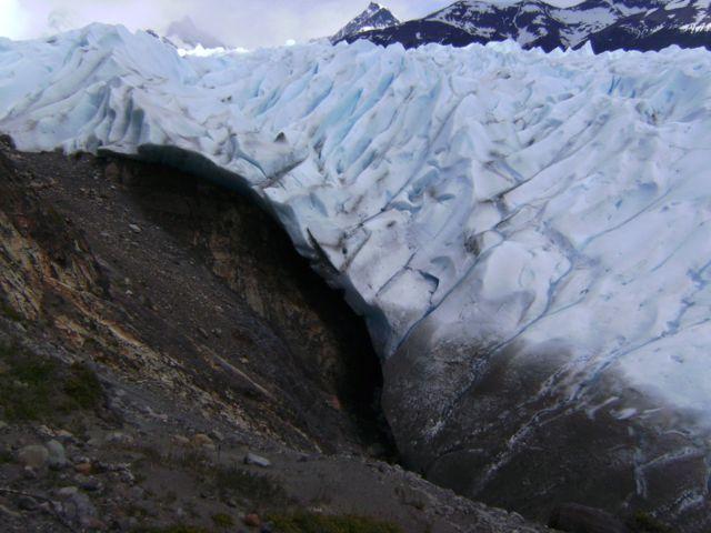 Bordes del glaciar Perito Moreno. Noviembre de 2015.